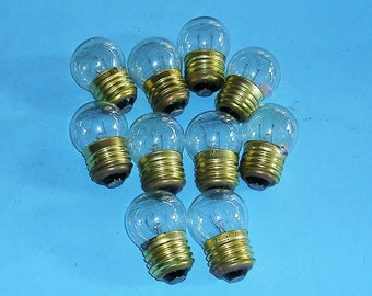 Five Vintage Light Bulbs