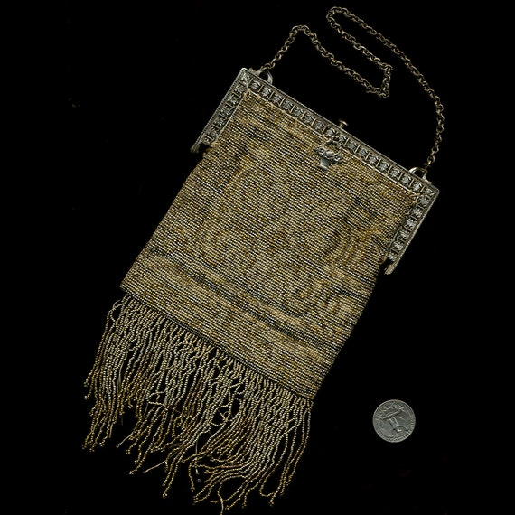 1920s Art Deco Beaded Purse