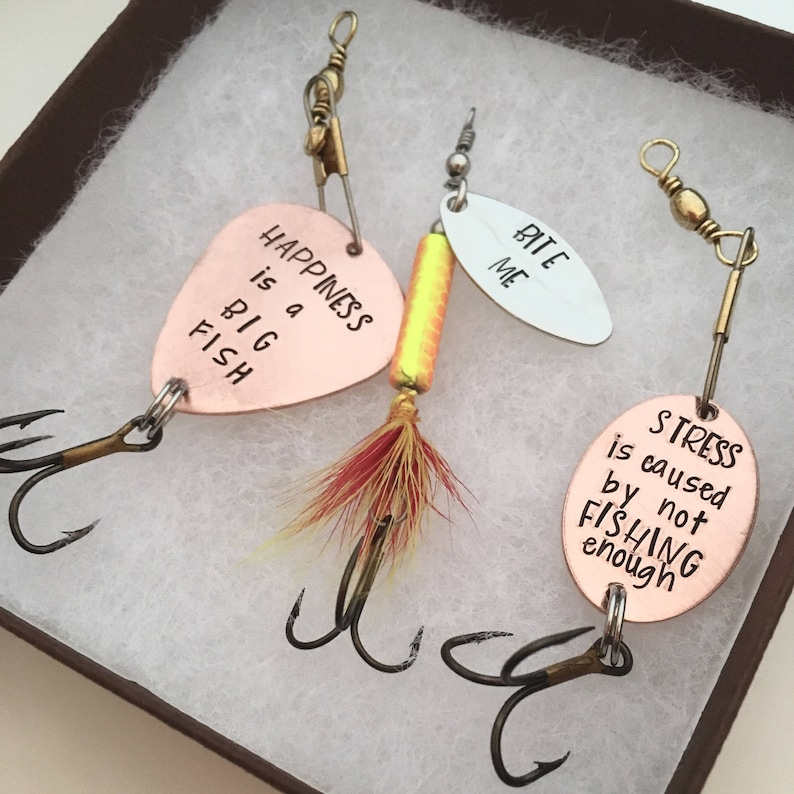 Funny Fishing Lures Valentines Day Gift For Him Birthday