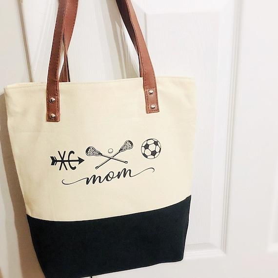 Lacrosse Mom Tote