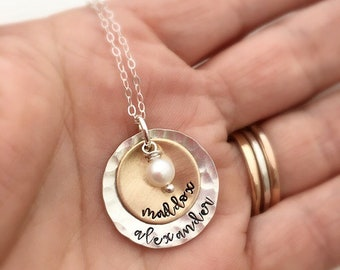 Personalized Gift for Mom - Custom Name Necklace - Mother's Day gift - Personalized Necklace  Grandma  Gift for Mother's Day - Mom Necklace
