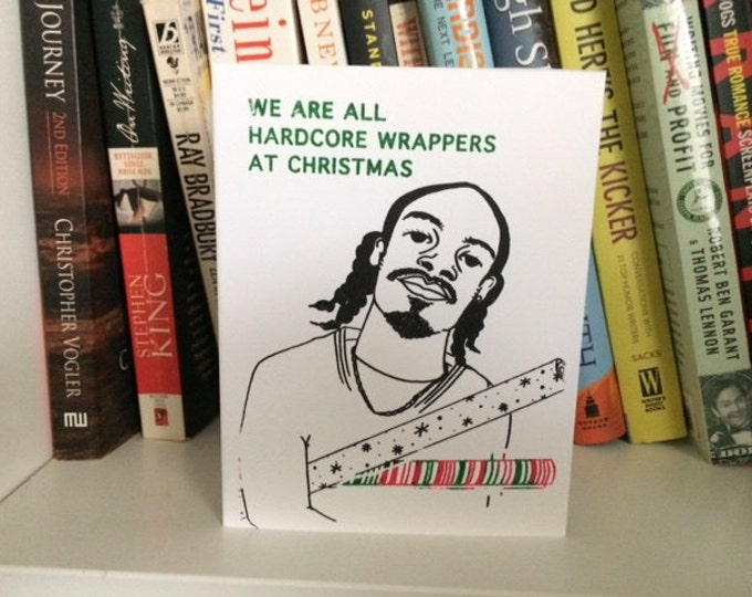 Funny Christmas Card - Hip Hop - Hardcore Wrappers