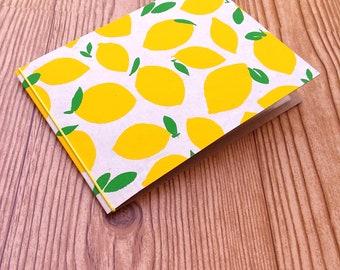 4 x 6 mini photo album - lemons