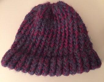 56c0ddf525c Newborn loom knit hat