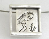 What's growing up... Pendant- sterling silver