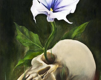 Vita Brevis - Open Edition fine art print - oil painting reproduction