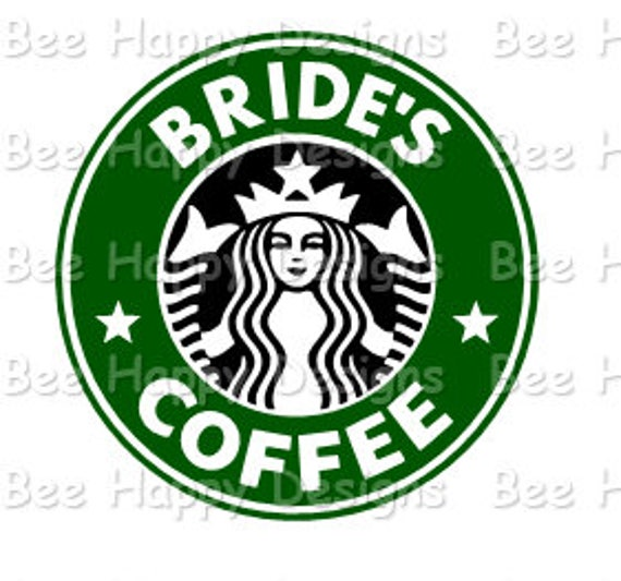 Starbucks Logo Svg Bride S Coffee Etsy