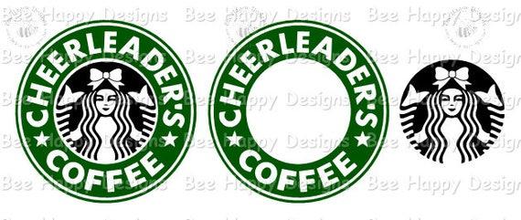 Starbucks Logo wBOW CHEERLEADER/'S COFFEE