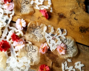 rustic bridal shower decorationswedding confetti wedding table decorrustic wedding floral bridal shower decorationsflower girl petals