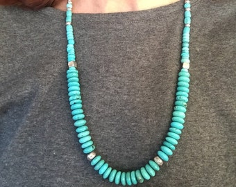 Turquoise NAMASTE Cynthia Sundance Moon Artisans Bracelet .925 Sterling Silver Rare Gaspeite Carved Coral Flower Blossom Yoga Nature OOAK