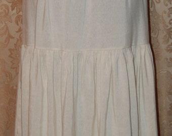 Petticoat -- HEMP silk - large