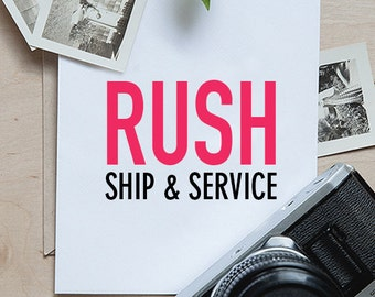 RUSH SERVICES - Domestic and International Shipping