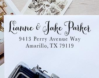 Address Stamp, Custom Address Stamp, Self Inking Address Stamp, Return Address Stamp - 1002