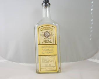 Vintage Watkins Double Strength Imitation Vanilla Bottle