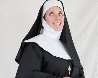 Authentic Looking 7-Piece Nun Costume
