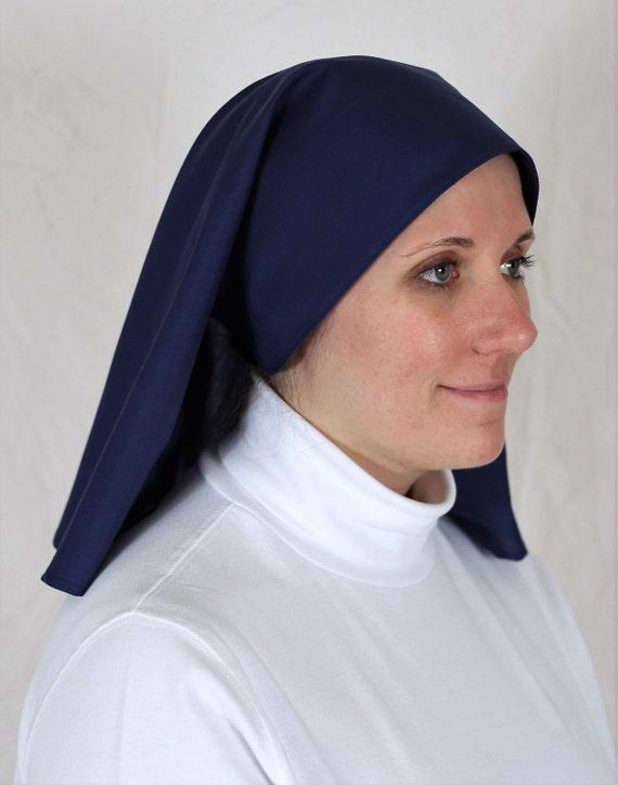 Suore abitudine Kit Velo Colletto burqa