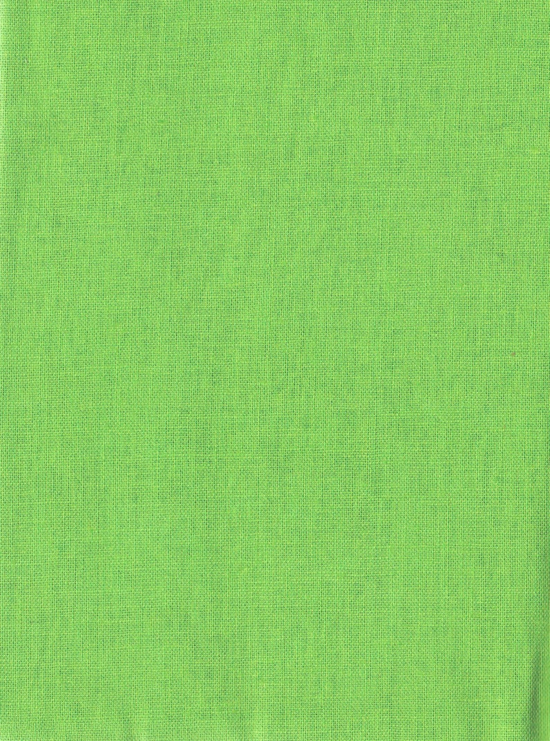 Clearance 1/2 yard Lime Green Essex Robert Kaufman 55 linen image 0