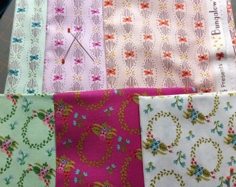 Sale! 6 half yards of Bungalow by Amy Gibson for Windham Fabrics - 3 yards total