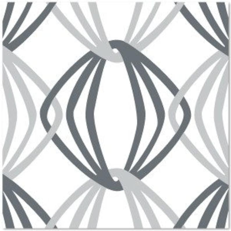 Sale remnants of Organic Daisy Janie Shades of Grey OOP Out image 0