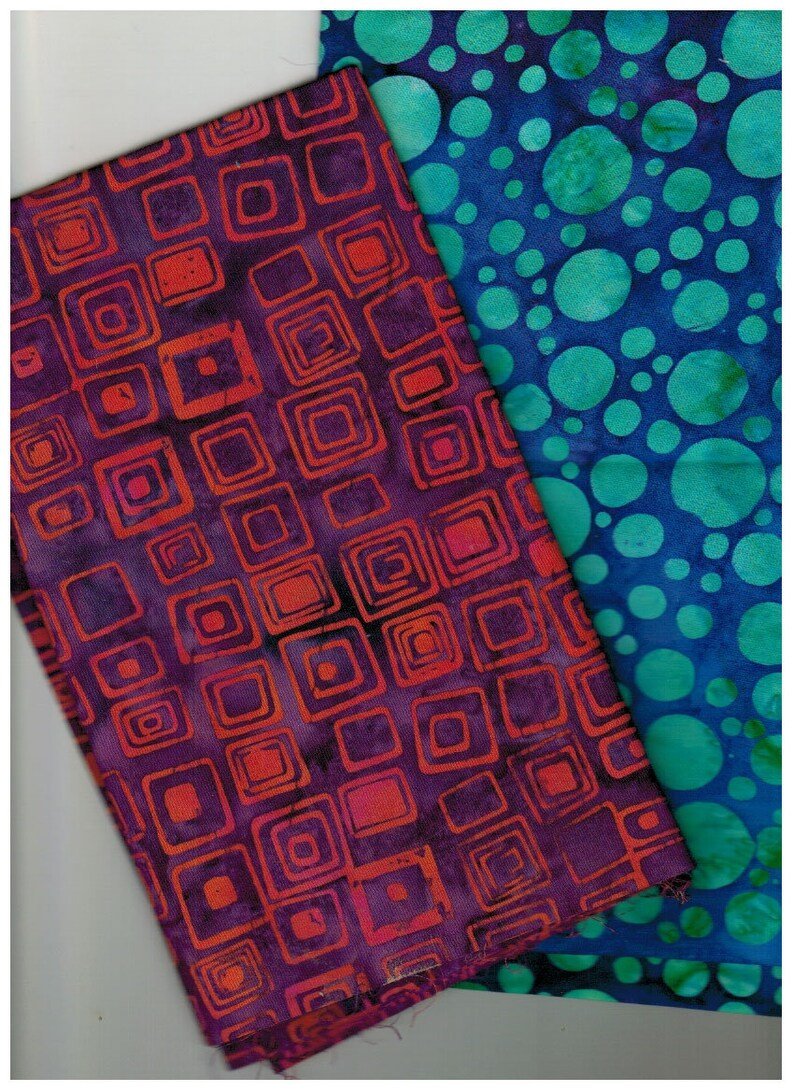 Sale 2 fabrics  2  Batik Hoffman Fabrics Please see BOTH image 0