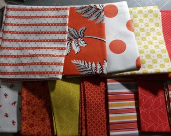 Clearance! 13 Fat Quarters of Denyse Schmidt Free Spirit Fabrics OOP HTF - Please see all images