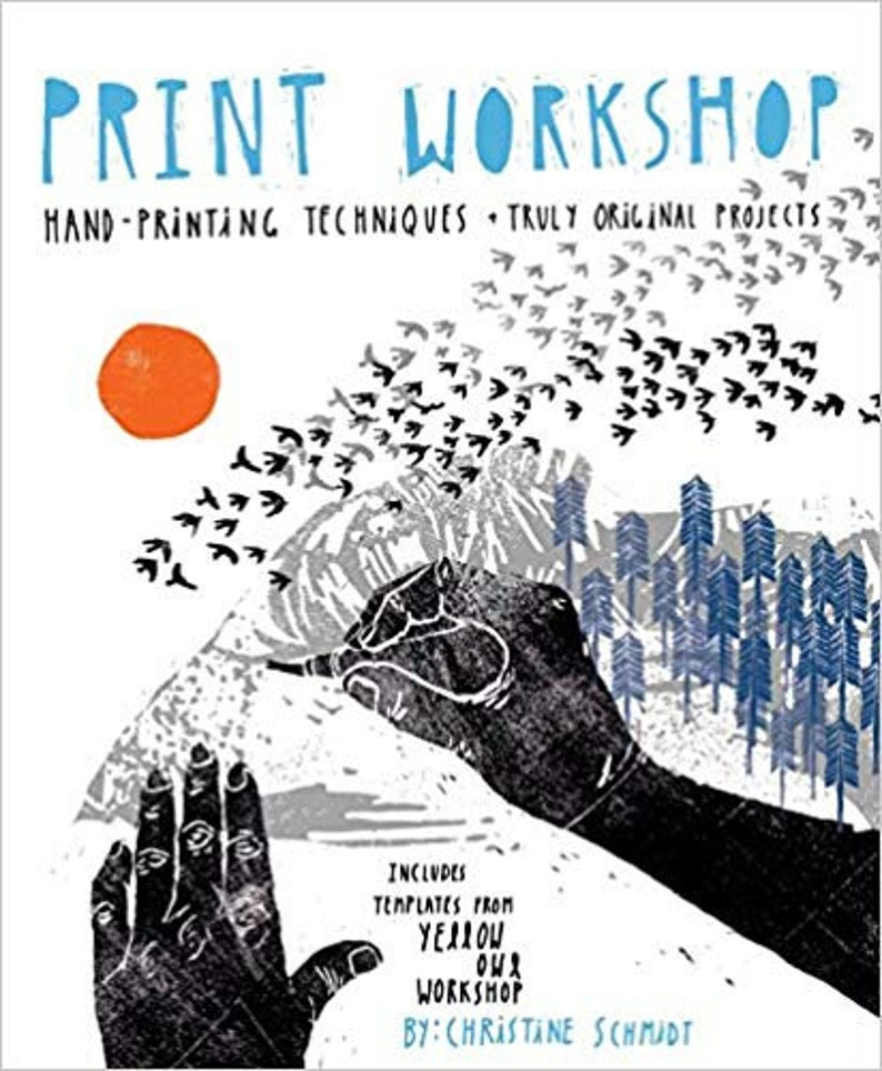 Clearance Print Workshop: Hand-Printing Techniques and Truly image 0
