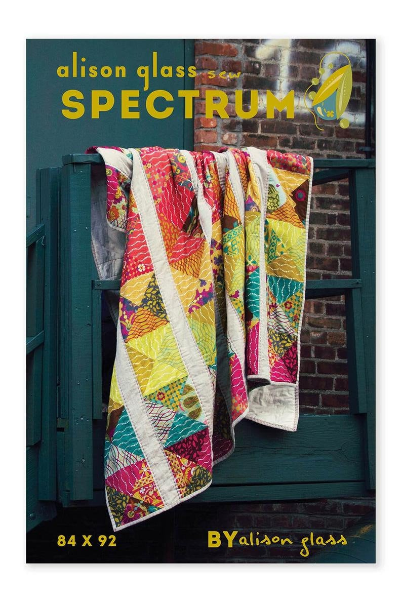 CLEARANCE Alison Glass Spectrum Quilt Pattern. image 0