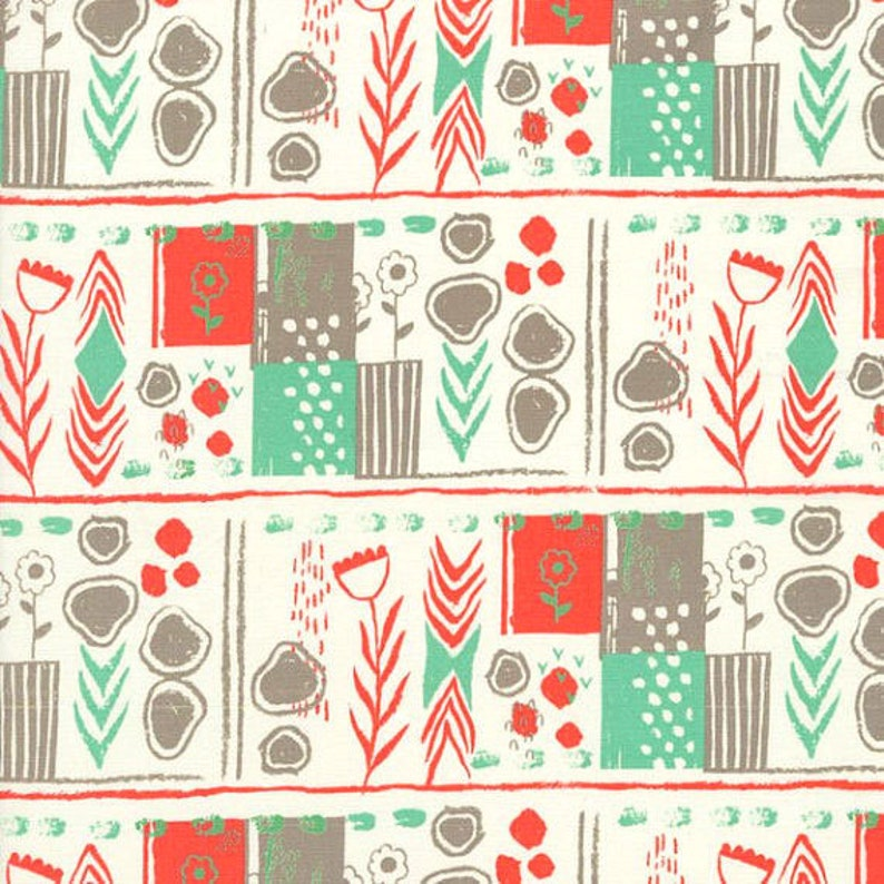 Clearance 1/2 yard August by Sarah Watts for Cotton and Steel image 0