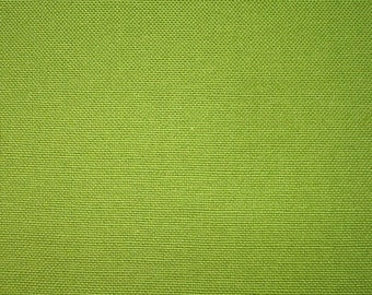 Clearance 1/2 yard Oasis Canvas Green 100% Organic Cotton Marcus Fabrics OOP Hard to Find