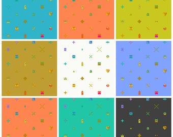 9 Fat Quarter Bundle Trinket Sunprint 2021 Alison Glass Andover Fabrics