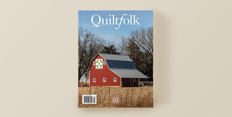 CLEARANCE Quiltfolk Issue 2 Iowa Magazine HTF image 0