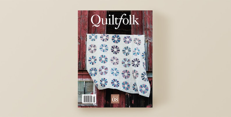 CLEARANCE Quiltfolk Issue 8 Michigan Magazine image 0