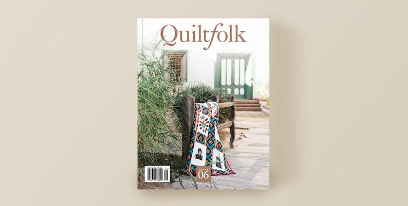 CLEARANCE Quiltfolk Issue 6 Arizona Magazine image 0