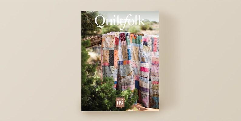 CLEARANCE Quiltfolk Issue 9 Utah Magazine image 0