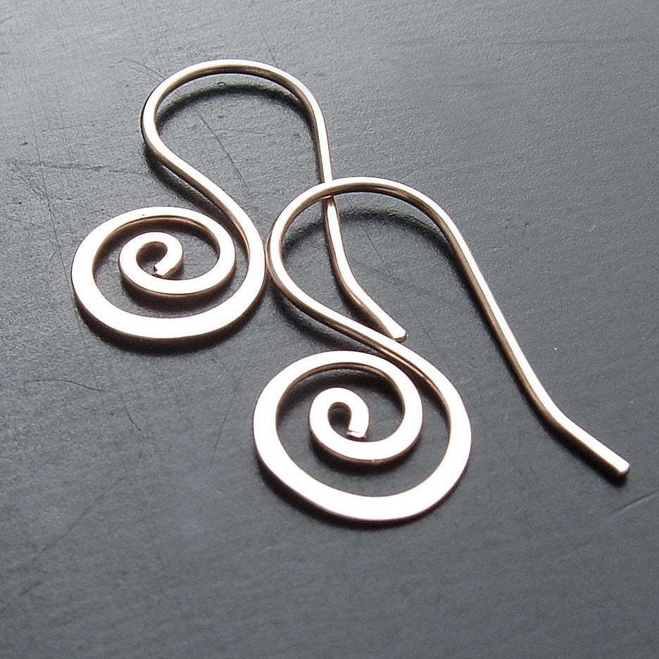 small silver hoop earrings coiled silver open hoop unfurled. Black Bedroom Furniture Sets. Home Design Ideas