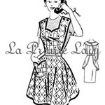 Repro Vintage Full Apron 50's PDF Pattern No 9 Available in M-L-XL