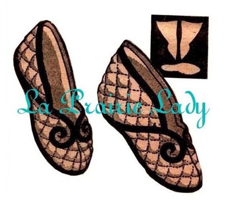 1950s Sewing Patterns | Dresses, Skirts, Tops, Mens Repro Vintage Mail Order Boot or Ballet Slippers 50s PDF Pattern $4.69 AT vintagedancer.com