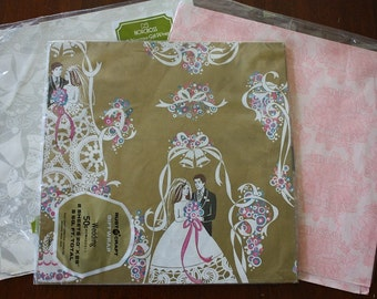 Vintage Wedding Themed Wrapping Paper