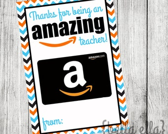 You are an Amazing teacher thank you gift card