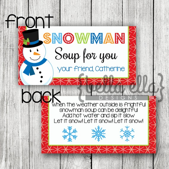 This is a graphic of Snowman Soup Printable pertaining to diy