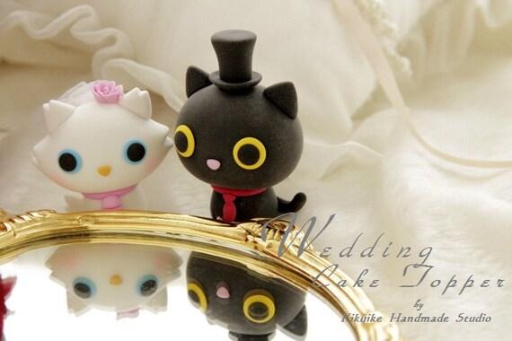 Katzchen Hochzeitstorte Katze Hochzeitstortek857 Etsy