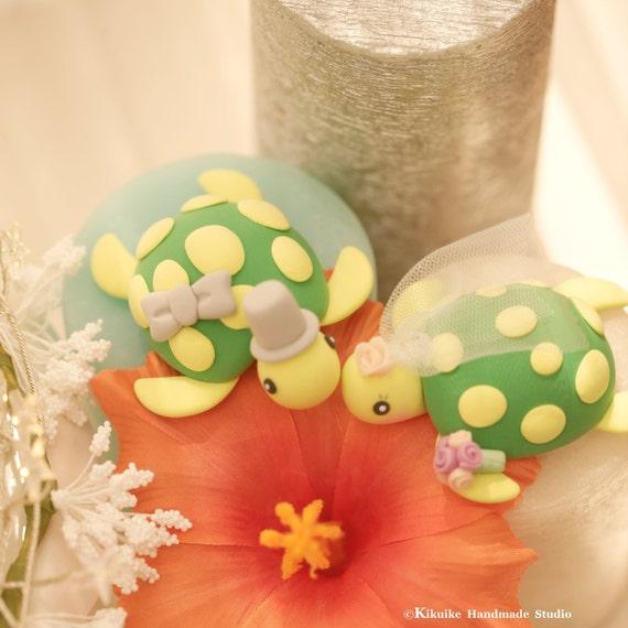 turtles Wedding Cake Topper for 1 pair | Etsy