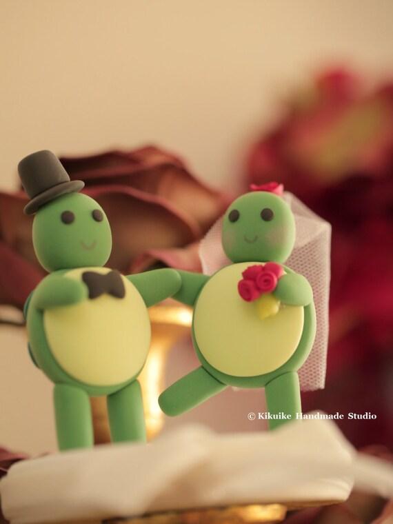 turtles Wedding Cake Topper | Etsy