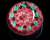 Artisan Pink Roses Millef...