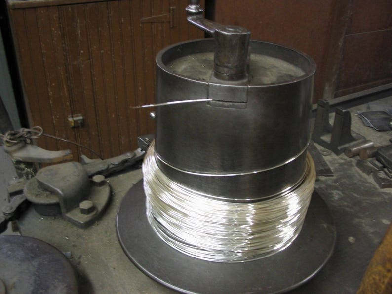 10FT 24G .999 Fine Silver Round Wire DS