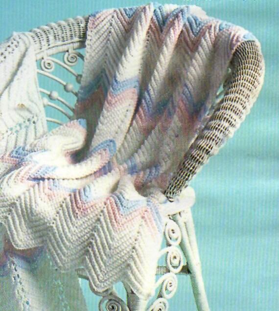 Baby Crochet Pattern Simple Baby Afghan Crochet Pattern | Etsy