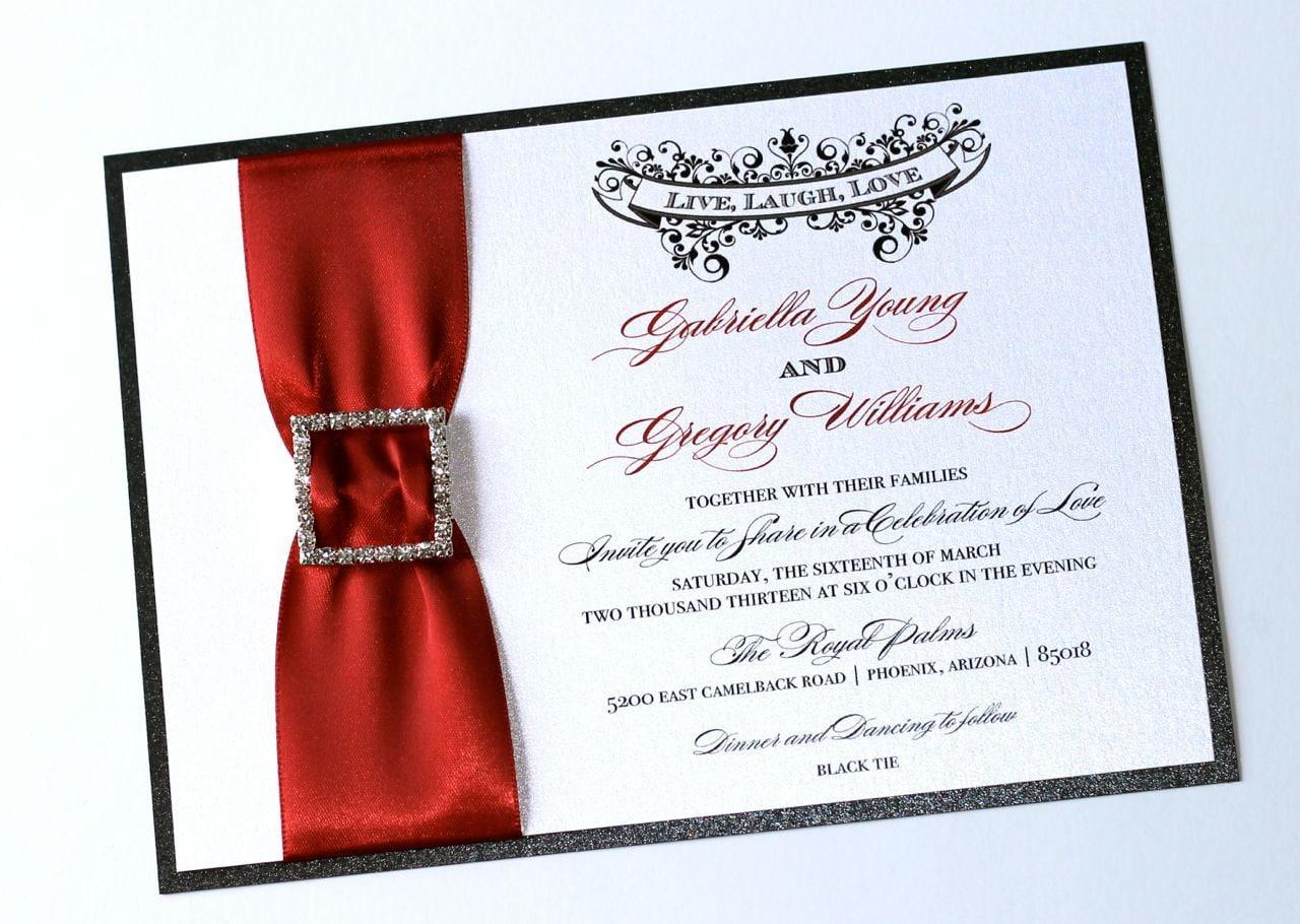 Elegant Wedding Invitation Vintage Wedding Invitation | Etsy