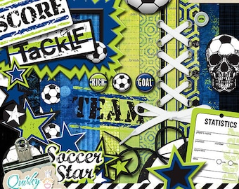 What a Kick Digital Scrapbook Kit
