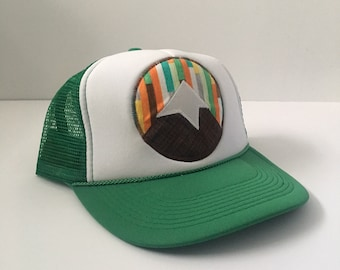 Mountain Trucker Hat - Green 1e1ee63330a4