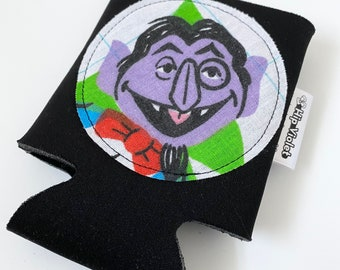 The Count from Sesame Street Can Cooler - The Count Gift - Vintage Sesame Street - Vintage The Count